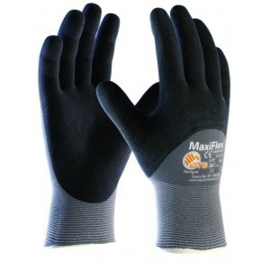 Seamless Knit Nylon Gloves