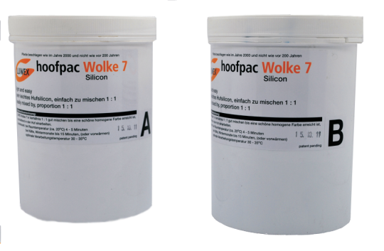 SILICONE WOLKE 7 - BICOMPONENT- 2 X 1L